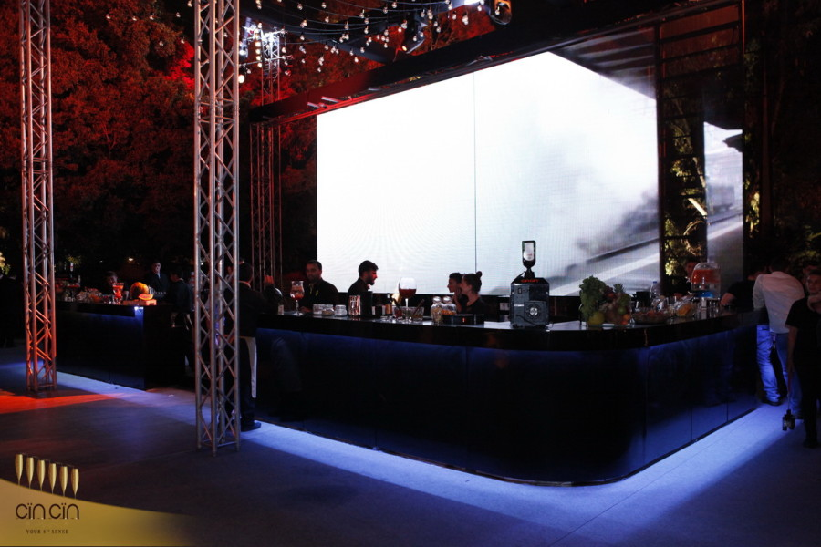 Black Mobile Bar rental