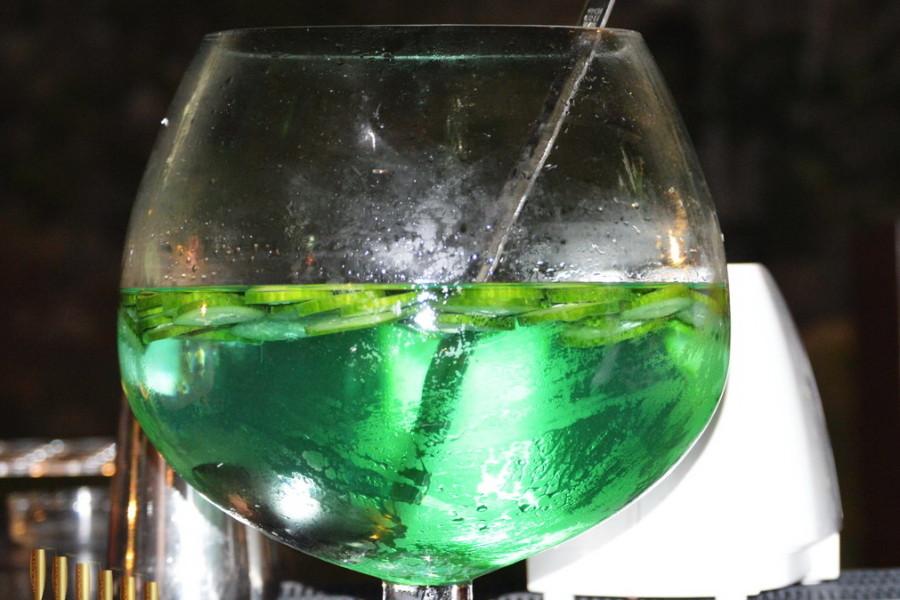 Cin Cin green punch