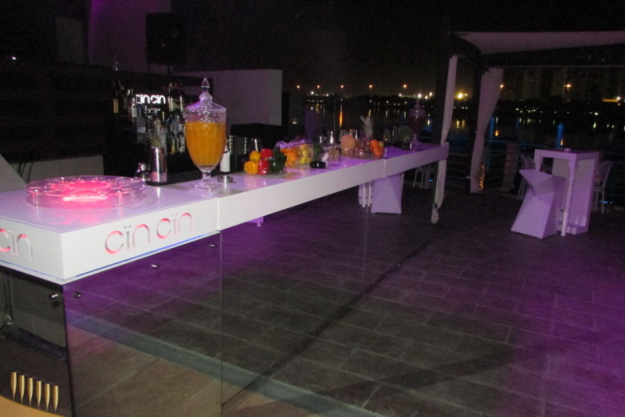 Mirror Mobile Bar rental