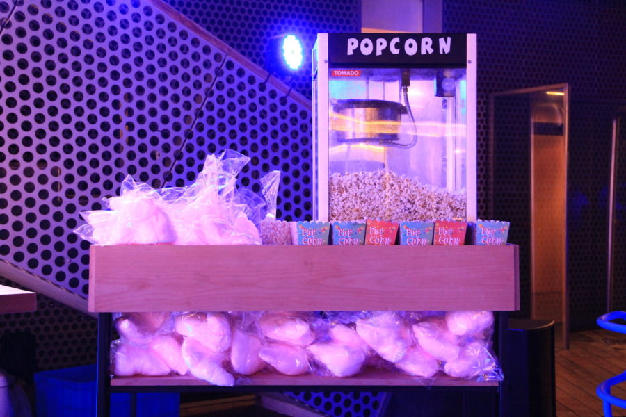 Popcorn and cotton Candy Mobile bar service