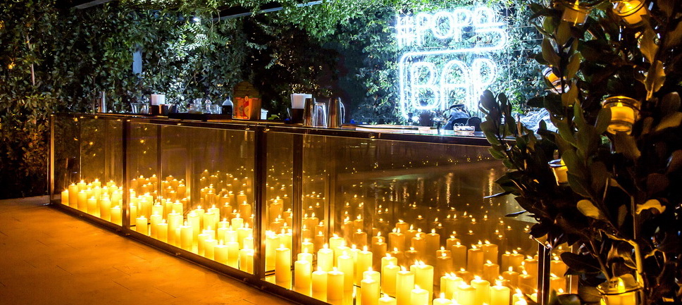 Candle Mobile bar rental