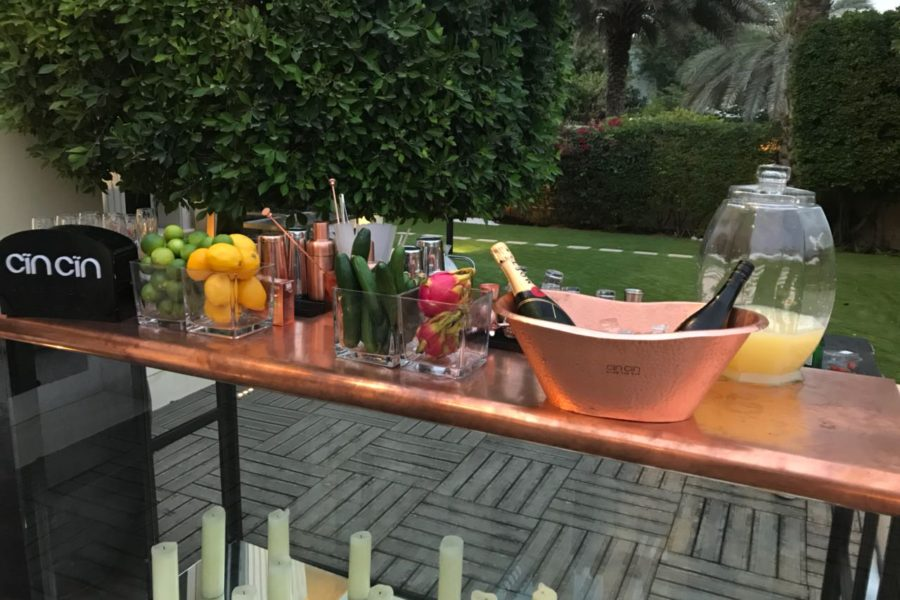 Copper top UAE BAR rental