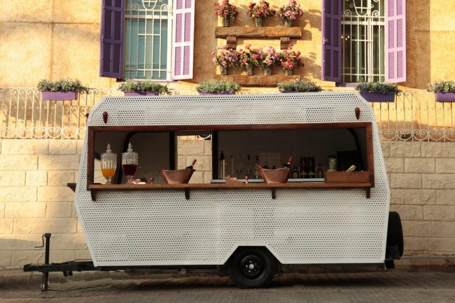 Caravan bar rental